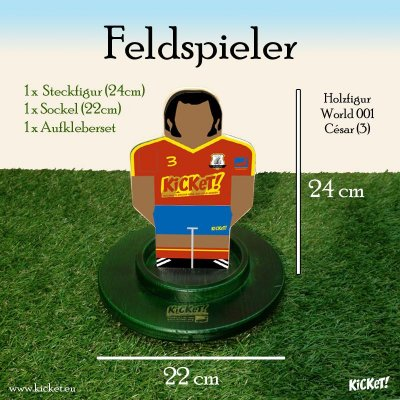 Fieldplayer (national teams)